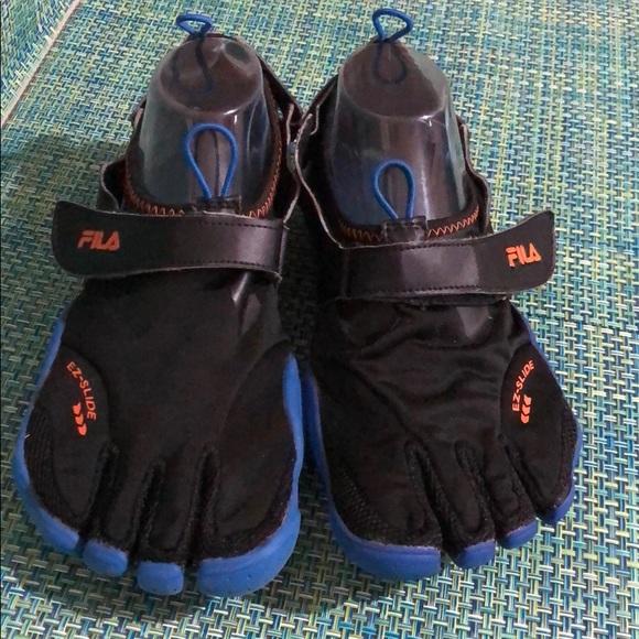 FILA Skele Toes EZ Slide Drainage Running Shoes EC